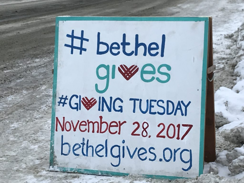 #bethel gives #giving tuesday November 28, 2017 bethelgives.org